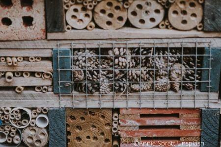 Comment fabriquer un hôtel à insectes?